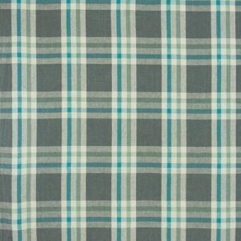 Brera Scozzese Fabric Cobalt Designers Guild