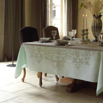 Venezia Tablecloth 175x250 Beige cendré Le Jacquard Français