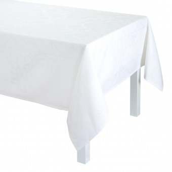 Azulejos Tablecloth 175x250 Blanc Le Jacquard Français
