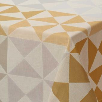 Origami Tablecloth 140x225 Multico Le Jacquard Français