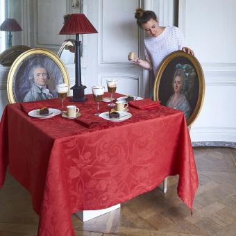 Tivoli Tablecloth 175x250 Blanc Le Jacquard Français