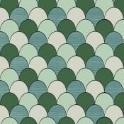 Papier peint Scales Green M.C. Escher