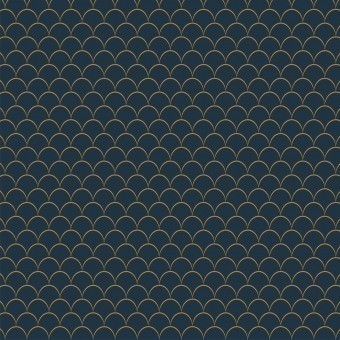 Little Scales Wallpaper Acqua/Jade M.C. Escher