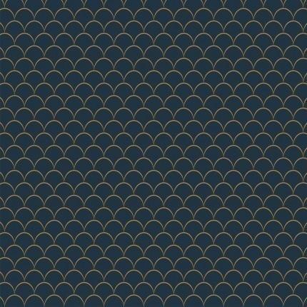 Papier peint Little Scales M.C. Escher Dark/Blue 23114 M.C. Escher