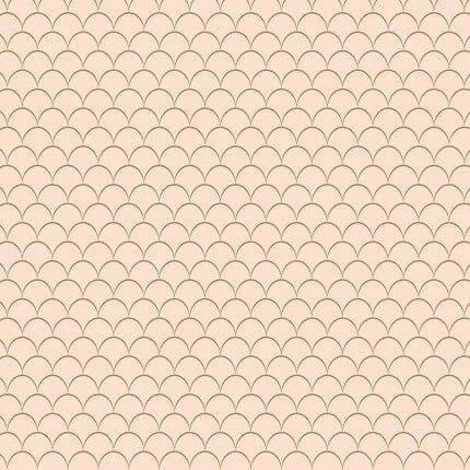 Papier peint Little Scales M.C. Escher Pink 23113 M.C. Escher