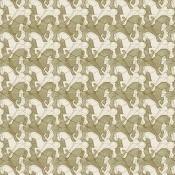 Papier peint Horseman Red M.C. Escher