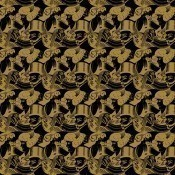 Papier peint Eight Heads Light/Beige M.C. Escher