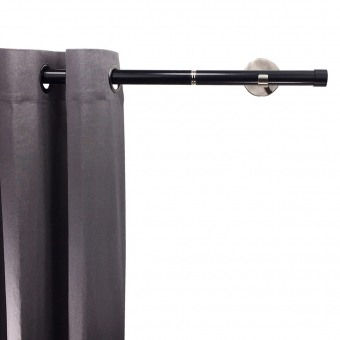 Linea Rod Cap Black Nickel 102 cm Getynd