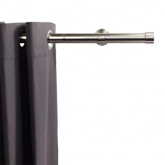 Linea Rod Cap Stainless Steel Nickel 102 cm Getynd