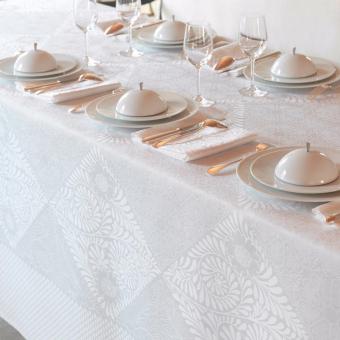 Bosphore Tablecloth 175x250 Blanc Le Jacquard Français