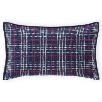 Lan Rectangle Cushion Indigo Gan Rugs
