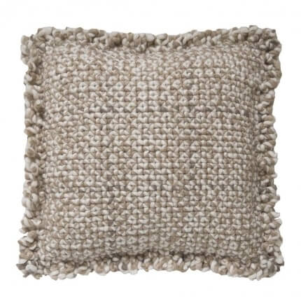 Coussin Waan Gan Rugs Taupe Coussin Waan Taupe Gan Rugs