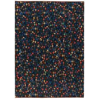 Diamond Black Rug 160x240 cm Golran