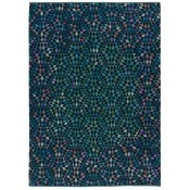 Tapis Diamond Medallion Blue Green 240x160 cm Golran