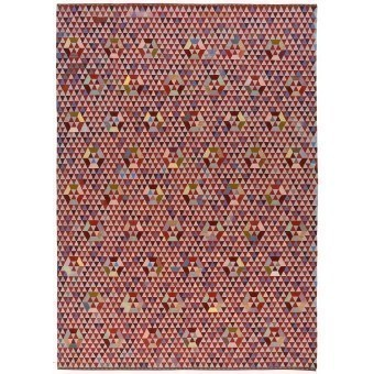 Trianglehex Sweet Pink Rug 160x240 cm Golran