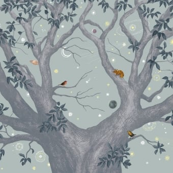 Abracadabra Jour Panel 200x330 cm - 4 lés Isidore Leroy