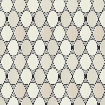 Papier peint Sarah Lavoine L'illusion Blanc/Violet Nobilis
