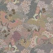 Tissu Hanami Rosa Etro