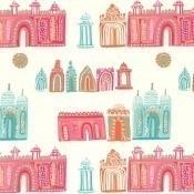 Papier peint Pink City Original Villa Nova
