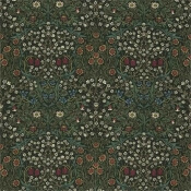 Tissu Blackthorn Green Morris and Co