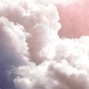 Panneau Clouds Pink Coordonné