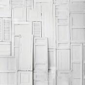 Panneau Doors Wall Texture Grey Coordonné
