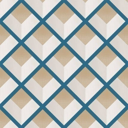 Papier peint Vincent Coordonné Blue 6600011 Coordonné