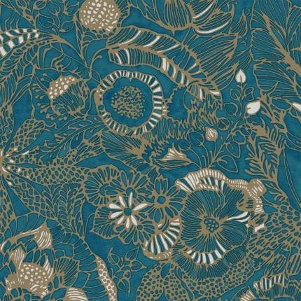 Papier peint Passiflora Eijffinger Vert 386513 Eijffinger
