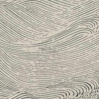 Waves Wallpaper Bleu Eijffinger
