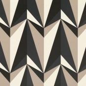 Papier peint Origami Rockets  Biscuit Kirkby