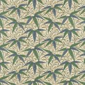 Tissu Bamboo Thyme/Artichoke Morris and Co