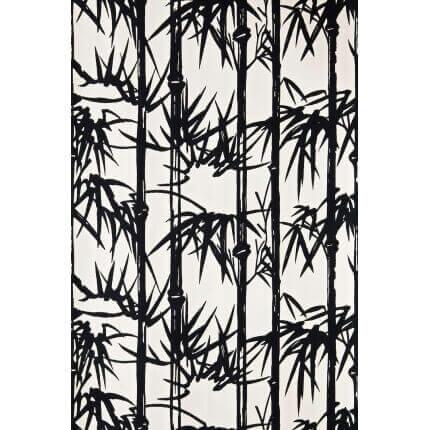 Papier peint Bamboo F&B Farrow and Ball Black and White BP/2119 Farrow and Ball