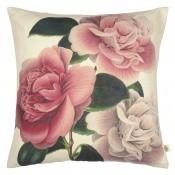 Coussin Camellia Folly  Tuberose John Derian