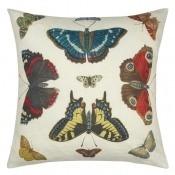 Coussin Mirrored Butterflies  Tuberose John Derian