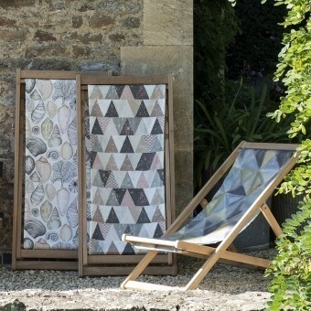 Shell Bay Outdoor Fabric Cobalt Designers Guild