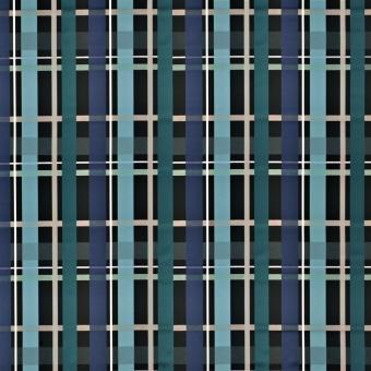 L'Entrelac Fabric Bleu paon Christian Lacroix