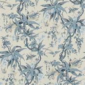 Papier Peint Mary Day Botanical   Slate Ralph Lauren