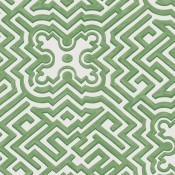 Papier peint Palace Maze Leafy Green Cole and Son