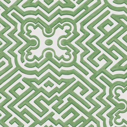 Papier peint Palace Maze Cole and Son Leafy Green /98/14059 Cole and Son