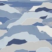 Papier peint Colline Naturel Lelièvre