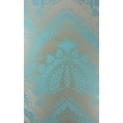 Papier peint Azari Turquoise/Gold Matthew Williamson