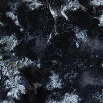 Loutre Faux Fur Faux fur Noir Lelièvre