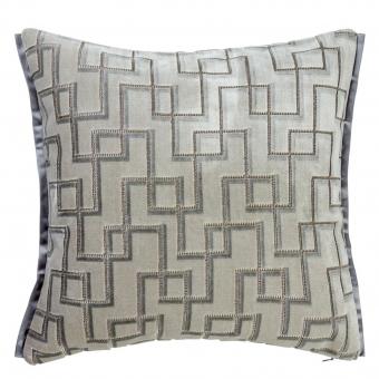 Jeanneret Cushion Platinum Designers Guild