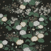 Papier peint Chinese Floral Vert York Wallcoverings