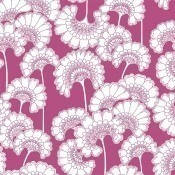 Papier peint Japanese Floral Noir/Blanc York Wallcoverings