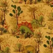 Papier peint Dinosauria Turmeric House of Hackney