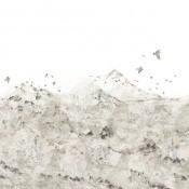 Panneau Paper Mountains Soft Rebel Walls