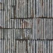 Panneau Backyard Grey Rebel Walls