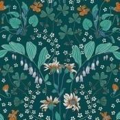 Papier peint Narcisse Vert Nobilis