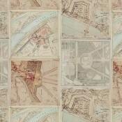 Tissu Palace Maps Original GP & J Baker